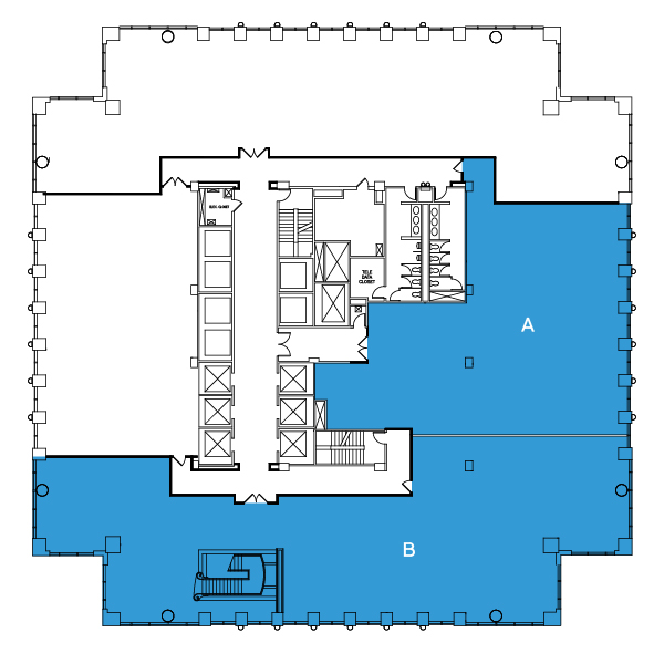 Test Fit Floorplan