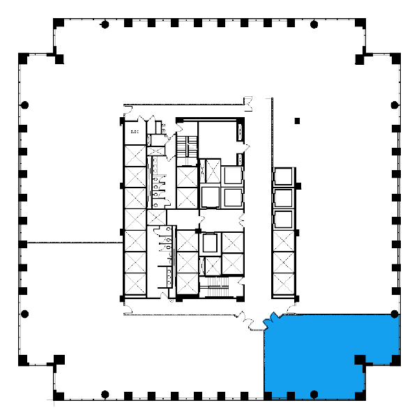 Core & Shell  Floorplan