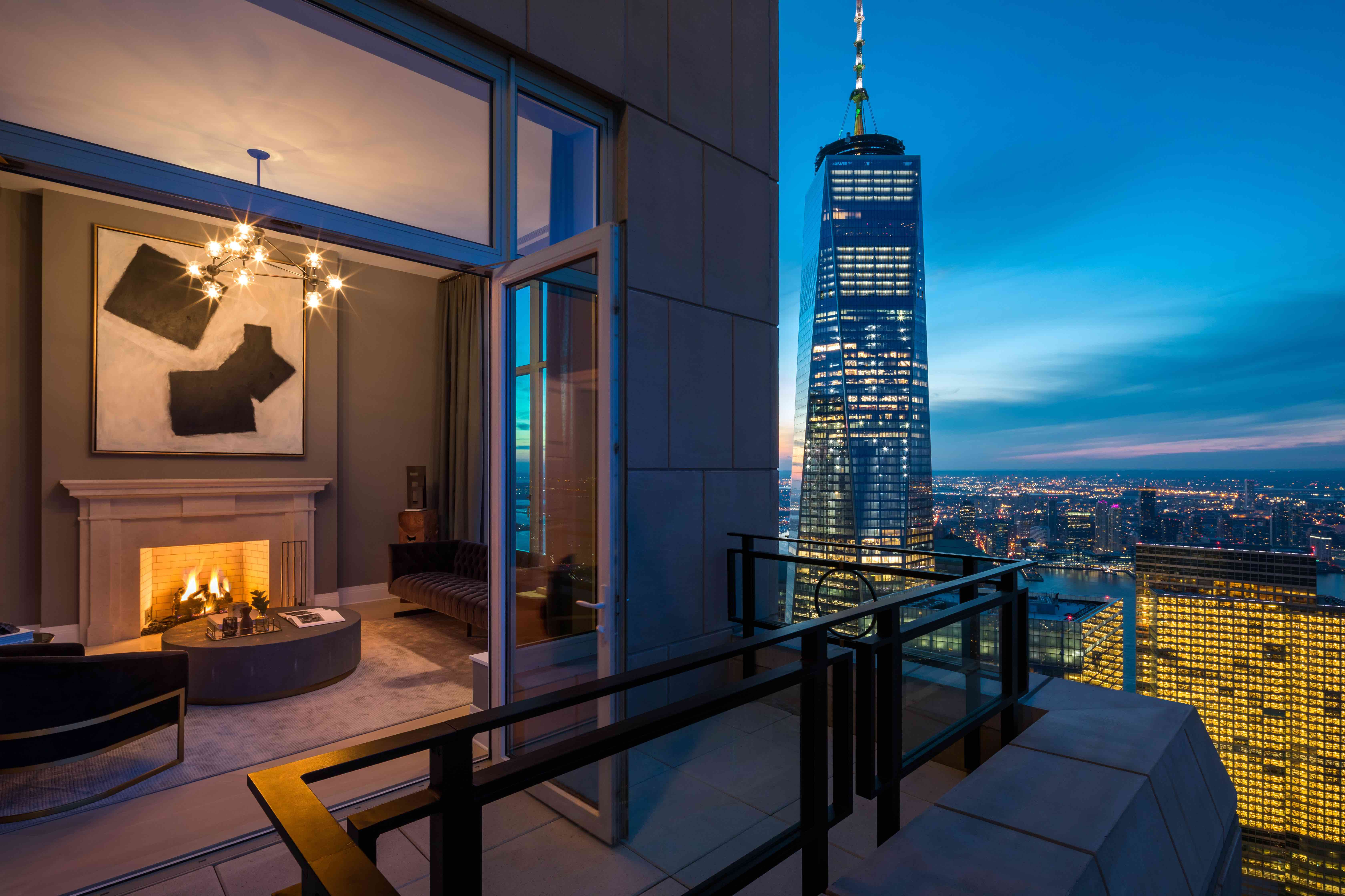 This Tower Boasts NYC's Tallest Terraced Penthouse