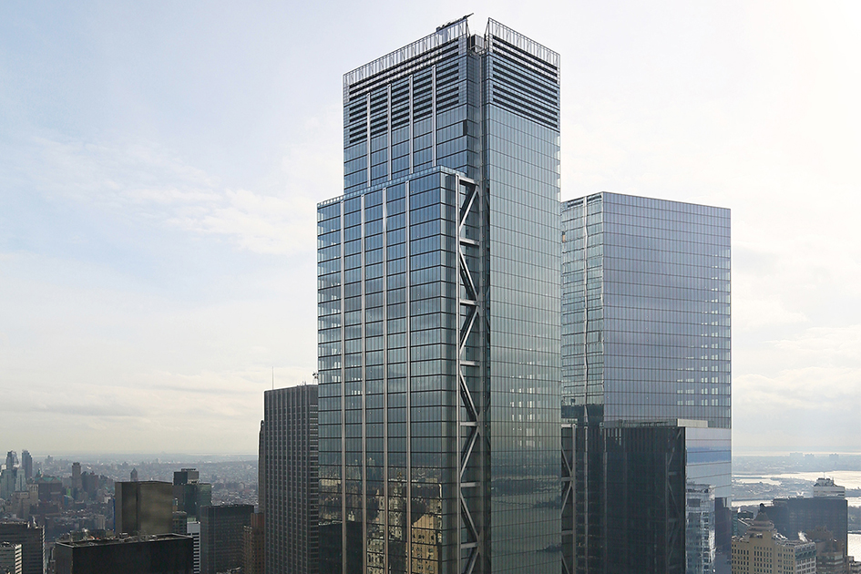 Rooftop Views & Interior Update on Supertall 175 Greenwich Street