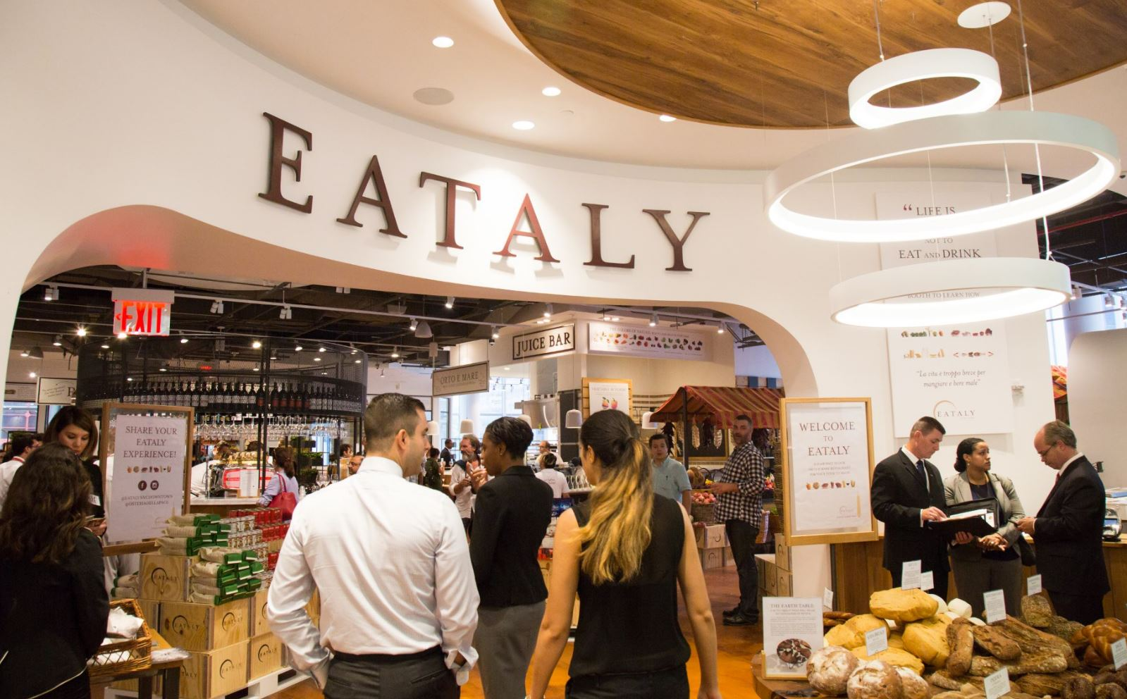 Eataly NYC Downtown to open Aug. 11 in 4 World Trade
