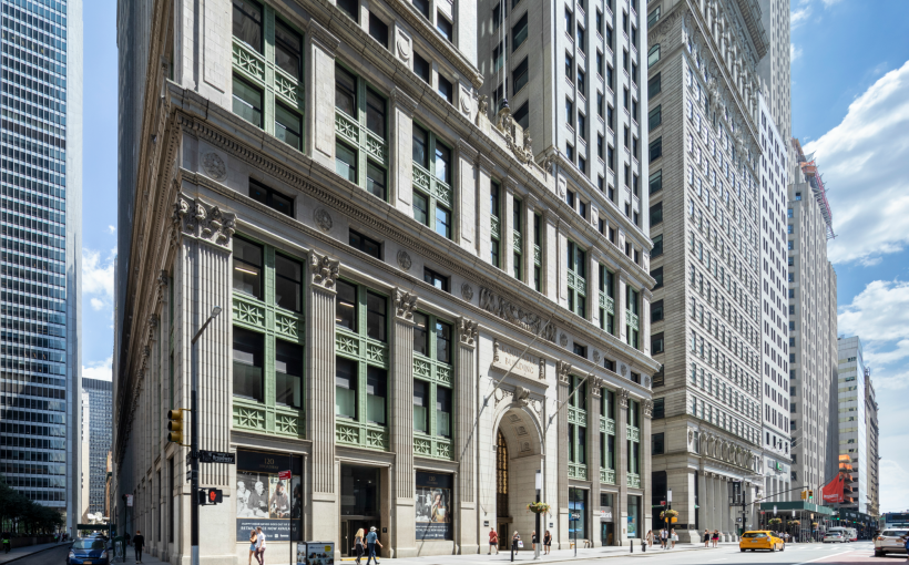 Silverstein Caps Building-Wide Revamp of 120 Broadway